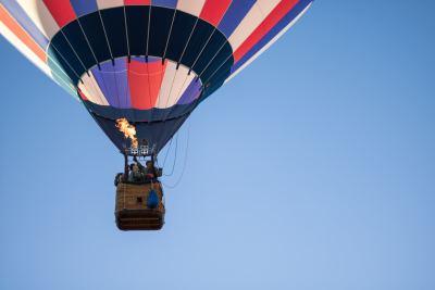 Hot Air Balloon flight over Bordeaux vineyards