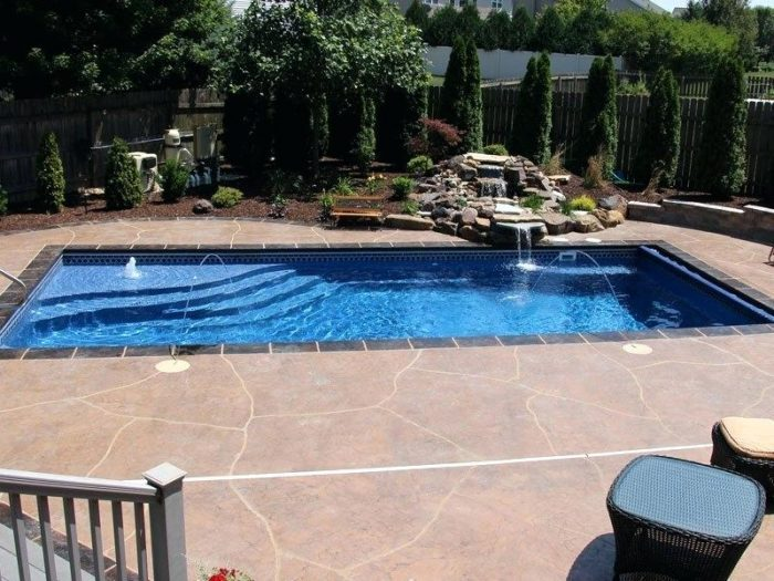 Backyard Pool Ideas Landscaping - Chatelp on Pool Patio Ideas On A Budget id=99483