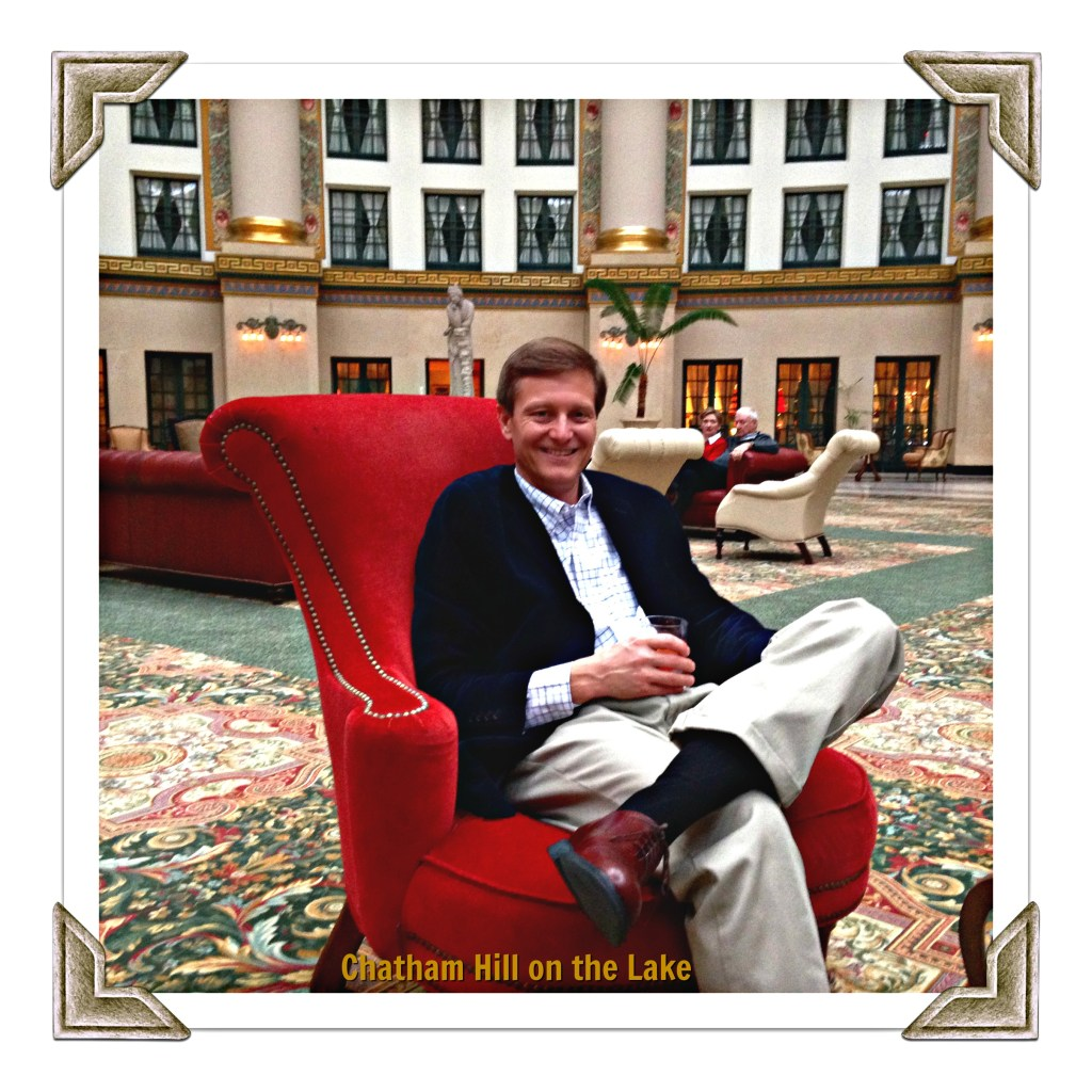 Relaxing at the West Baden