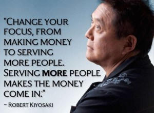 Influence quote by Robert Kiiyosaki