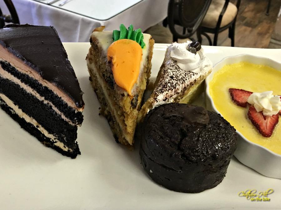 Imogene's Dessert Tray www.chathamhillonthelake.com