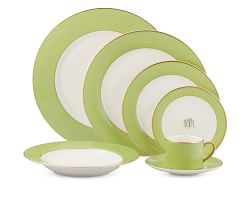 Green and Gold Spring Dishwater from Williams - sonoma