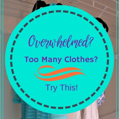 Overwhelmed By Clothes? Try This!