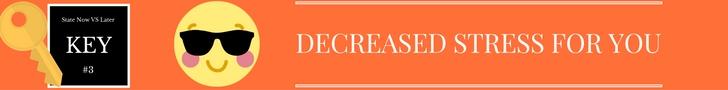 KEY #3 Decreased Stress www.chathamhillonthelake.com
