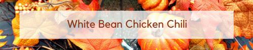 White Bean Chicken Chili www.mythriftyhouse.com