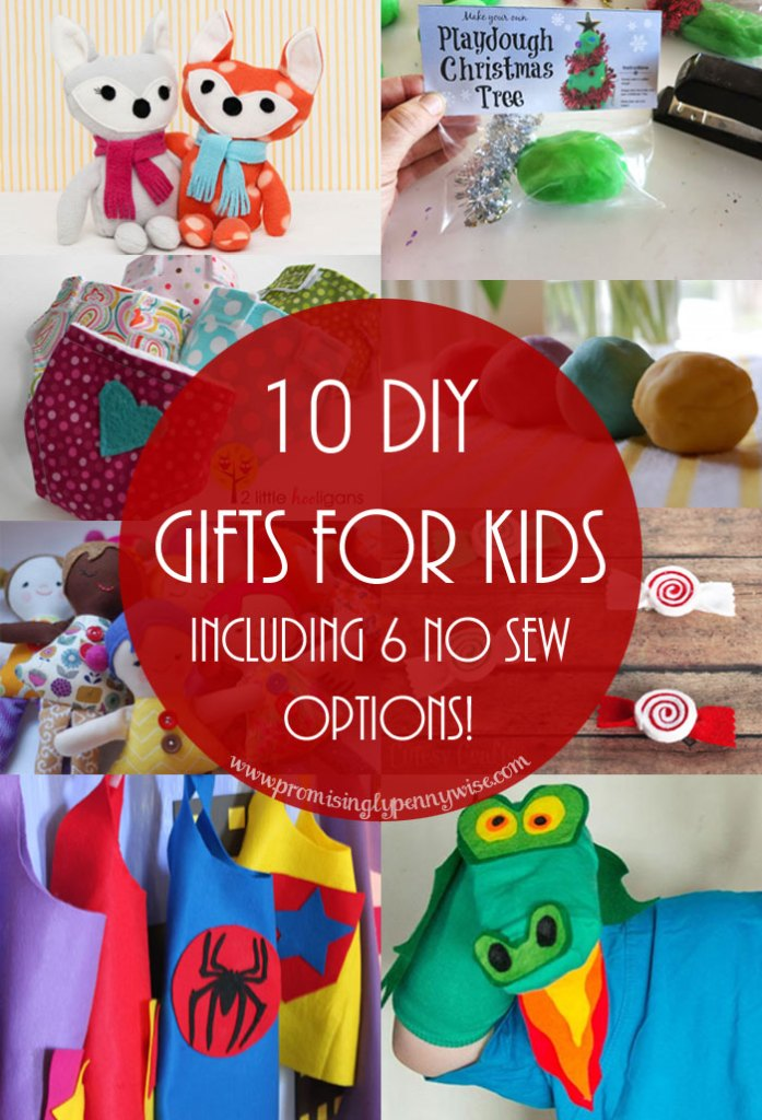 10 DIY Gift Ideas for Kids