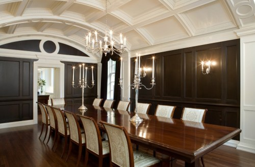 Barrel Ceiling Dining Room