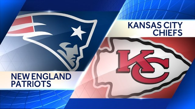 Image result for kansas city chiefs vs new england patriots