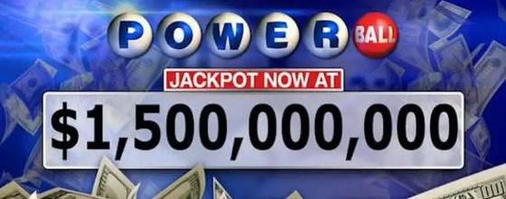$1.5 Billion Powerball Jackpot