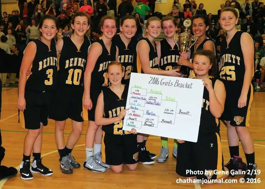 Bennett girls and Pollard boys triumph in CCS middle school