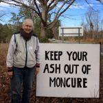 Moncure resident Judy Hogan