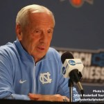 UNC basketball coach Roy Williams