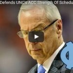 Roy Williams Defends UNC's ACC Strength Of Schedule
