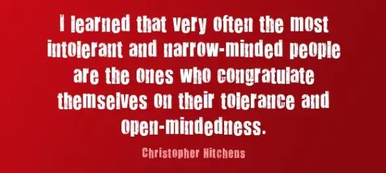 Intolerant Tolerants