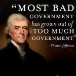 Too much government is bad government