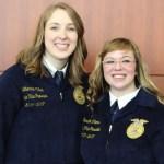 Katherine Miller and Sarah Thomas