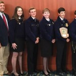Chatham Central team placed second in the Nursery Landscape Career Development Event