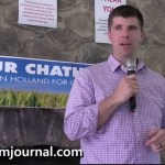 Unaffiliated Chatham County Commission candidate Peyton Holland