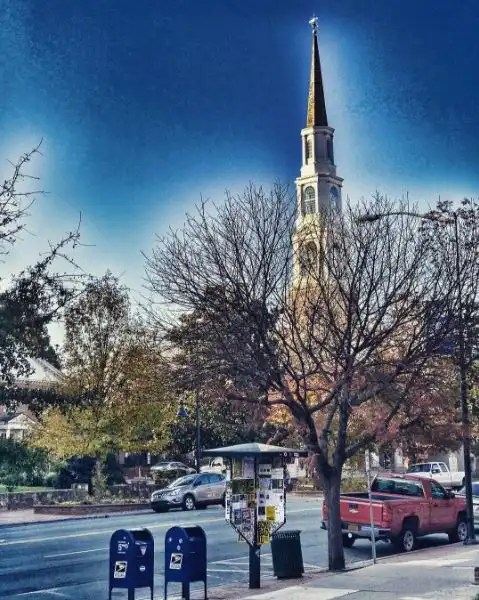 Franklin Street in downtown Chapel Hill, NC. (photo by Gene Galin)