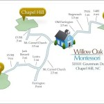 Willow Oak Montessori School Map