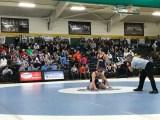 UNC vs UVA wrestling at Northwood High School