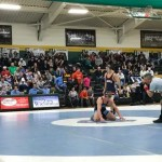 UNC vs UVA wrestling at Northwood High School