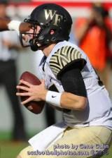 WFU quarterback John Wolford
