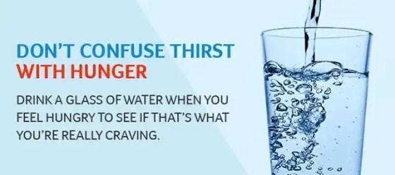 Hunger vs Thirst