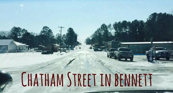 Chatham Street in Bennett