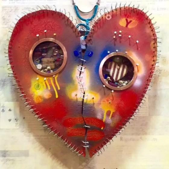 Heart the Fearrington Folk Art Show. Photo by Gene Galin