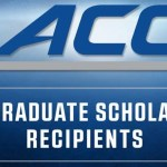 ACC Post Graduate Scholarship Recipients
