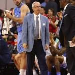 UNC basketball coach Roy Williams.