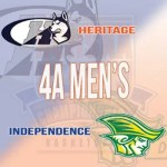 Heritage vs Independence 4A Basketball Championship game
