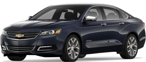 Chevrolet Impala takes top honors as large car by Consumer Reports.