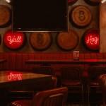 interior design of an empty restaurant