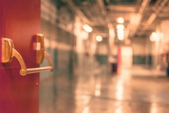 red school blur factory