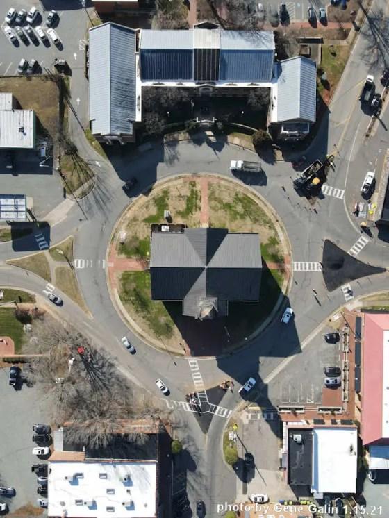 Pittsboro traffic circle 1.15.21