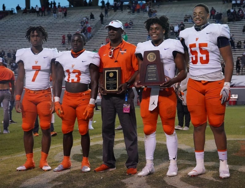 Vance grabs second straight state football championship with 35-14 win over Rolesville