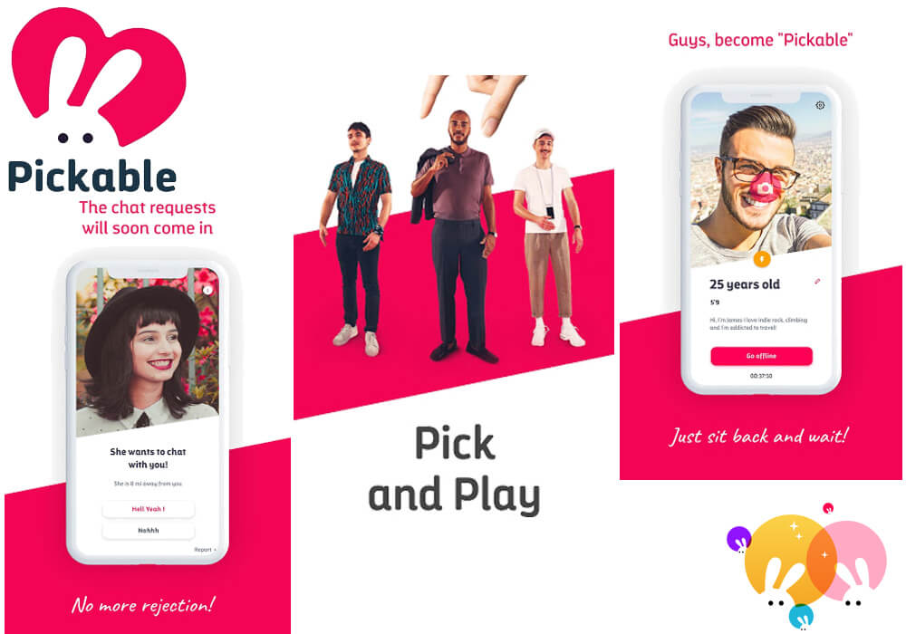 Pickable, Pickable Dating App