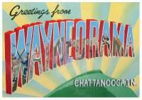Shaking Ray Levi Society Wayne-O-Rama Project