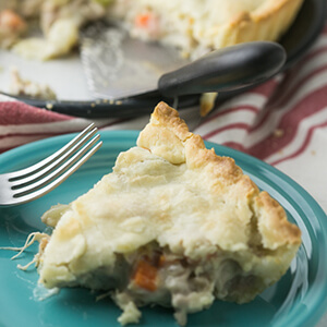 This classic chicken pot pie is exceedingly simple but totally from scratch. It is the perfect cool weather comfort food!   Recipe from Chattavore.com