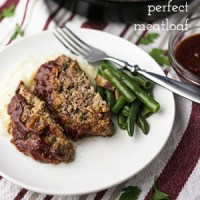 Perfect Meatloaf – Plain and Simple!