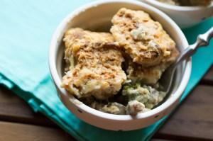 broccoli cheddar cobbler // chattavore