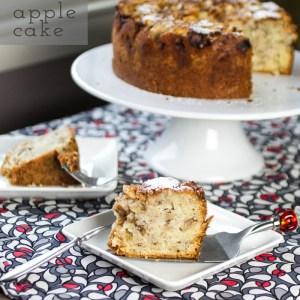 apple cake // chattavore