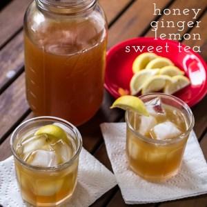honey-ginger-lemon sweet tea   chattavore