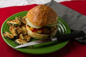 panko crusted pork sandwich | chattavore