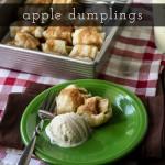 Baked Apple Dumplings with Cinnamon
