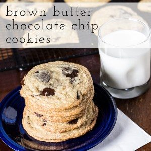 brown butter chocolate chip cookies   chattavore