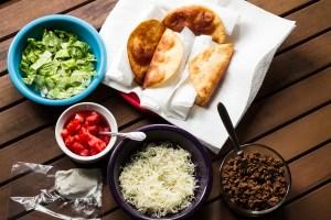 tacos in crispy flour tortillas | chattavore