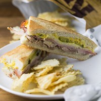 Homemade Cuban Sandwiches